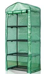 Happy Green Foliovník s policemi 69 × 50 × 160 cm