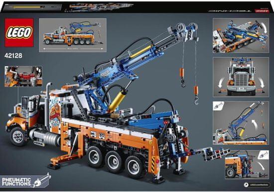 LEGO Technic 42128 Zmogljivo vlečno vozilo