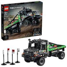 LEGO Technic 42129 Preizkusni tovornjak Mercedes-Benz Zetros 4x4