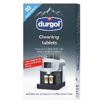 Durgol cleaning tablets 10x 1,6g