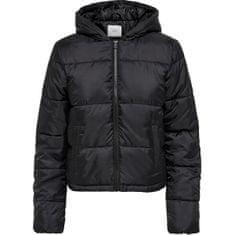 Jacqueline de Yong Dámska bunda JDYDAVINE 15234881 Black (Veľkosť XS)