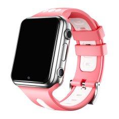 Klarion Detské ružovo-strieborné 4G smart hodinky E10-2020