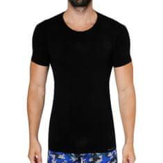 Gino Pánské tričko bambusové černé (58006) - velikost S