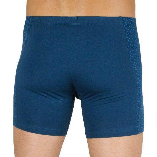Gino Pánské boxerky modré (74129)