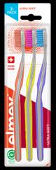 Elmex szczoteczka do zębów Ultra Soft 3-pack