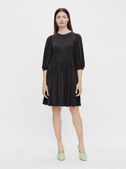 .OBJECT černé šaty Jannie