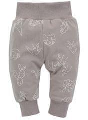 PINOKIO kojenecké tepláky Slow Life 1-02-2108-550A-BD 56 béžová