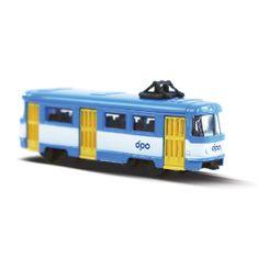 Rappa Tramvaj kovová mini DPO Ostrava 8.5 cm