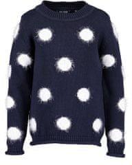 Blue Seven 769077 X_1 djevojački pulover, tamnoplavi, 92
