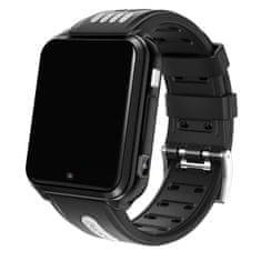 Klarion Detské čierno-sivé 4G smart hodinky H1-2020