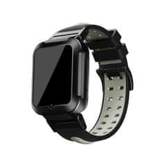 Klarion Detské čierno-sivé 4G smart hodinky E7-2020