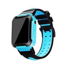 Klarion Detské čierno-modré 4G smart hodinky E7-2020