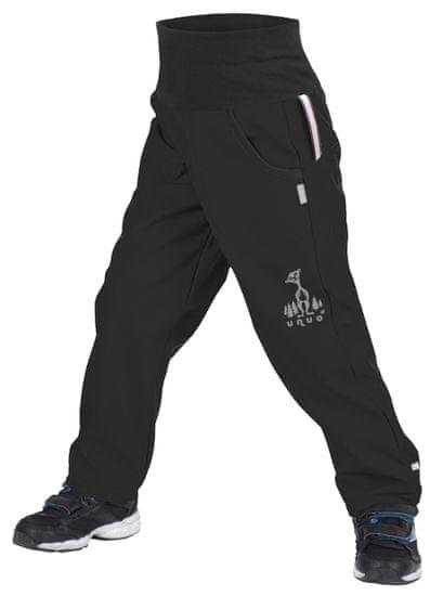Unuo detské batoľacie softshellové nohavice s fleecom REGULAR