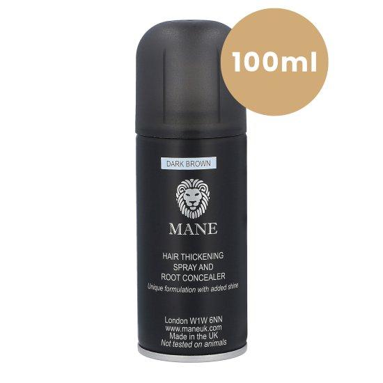 Mane vlasový zesilovač 100ml sprej - Cestovní balení pro okamžité zahuštění vlasů, odstín vlasového zesilovače: Světle hnědá (Light Brown)