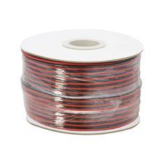M.N.C. Kabel za zvočnike/LED razsvetljavo 2 x 1,00 mm² - 100 m / zvitek