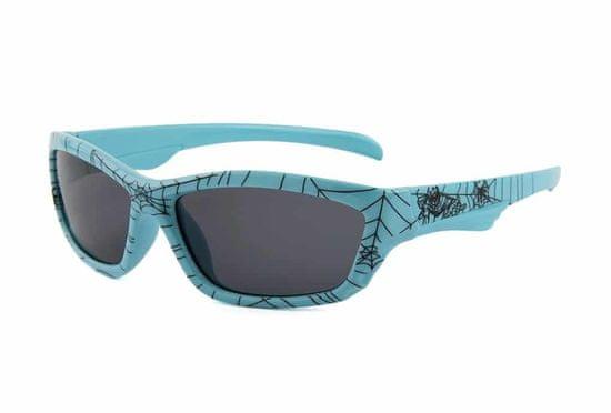 ENTAC Sončna očala Eclipse Kids svetlo modra z okvirjem iz silicijevega dioksida z UV zaščito