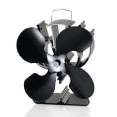 TURBO Fan Ventilátor na krbové kachle TURBO FAN 4 čepeľový – Triangel