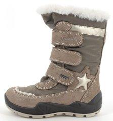 Primigi 8383911 dekliški zimski čevlji z Goratex membrano, bež, 28