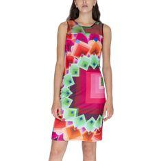 Desigual Šaty Woman Knitted Dress Sleeveless S