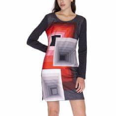 Desigual Šaty Woman Knitted Dress Long Sleeve XL