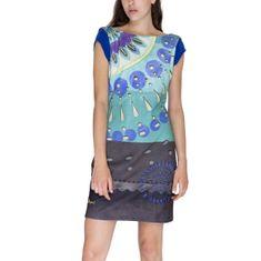 Desigual Obleka Woman Knitted Dress Short Sleeve S