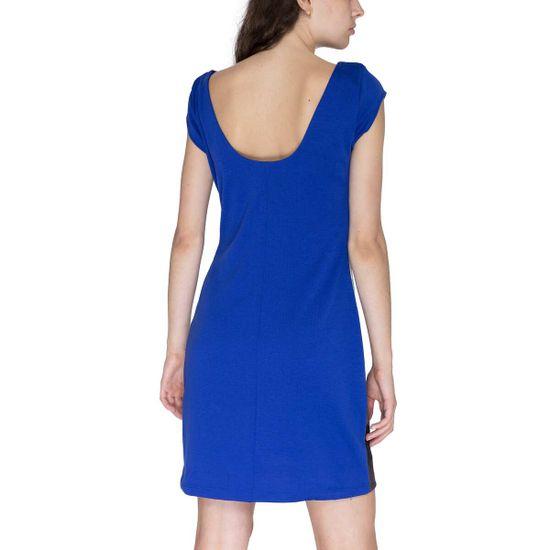 Desigual Obleka Woman Knitted Dress Short Sleeve