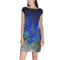 Desigual Obleka Woman Knitted Dress Short Sleeve XL
