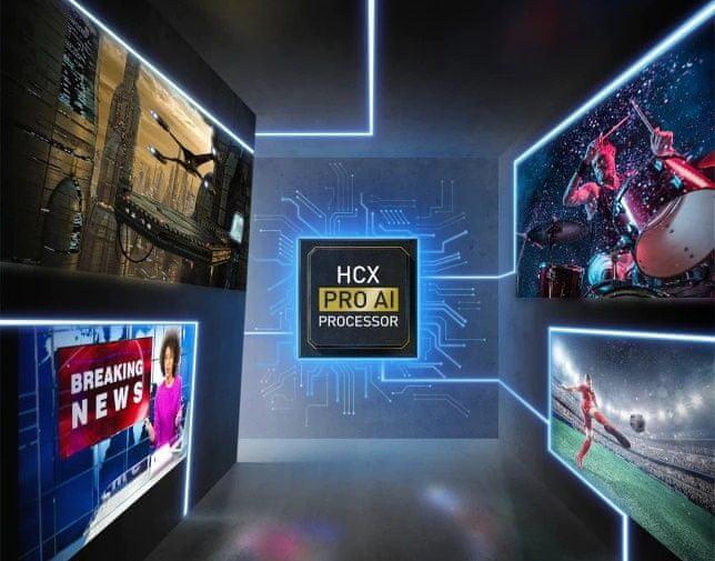 Panasonic TV televízió OLED 4K 2021 auto ai automatikus képhangolás
