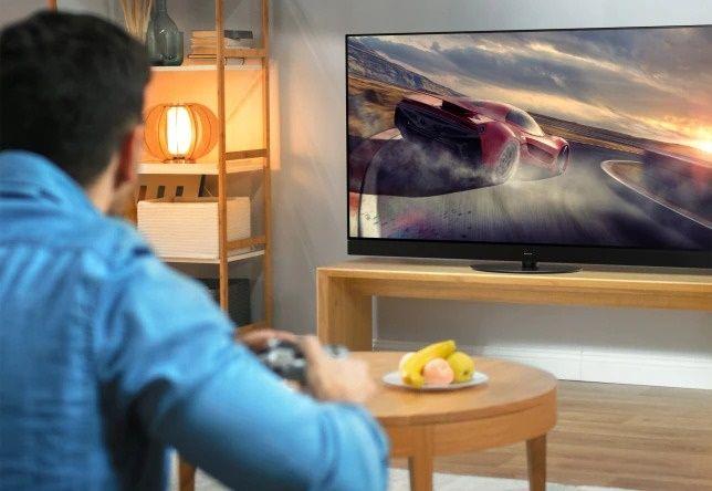 Panasonic TV televízió OLED 4K 2021 gamer mód extreme hdmi 2.1 hfr vrr allm hcx a sima játékhoz