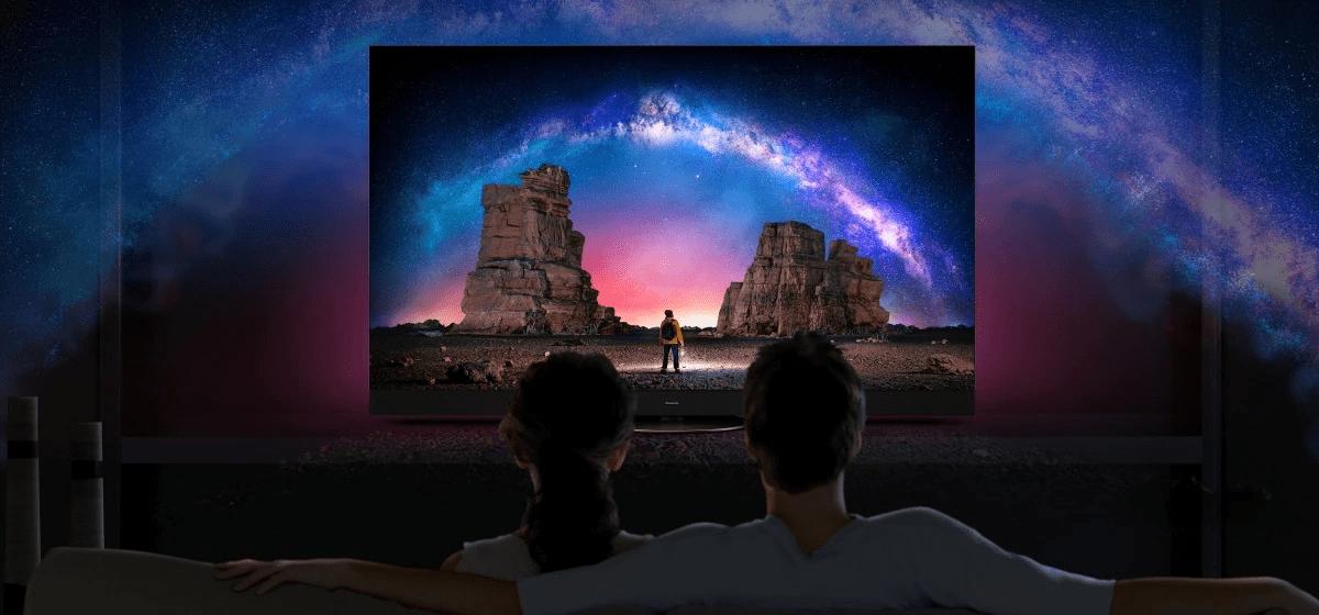 Panasonic TV televízió OLED 4K 2021 térhangzás