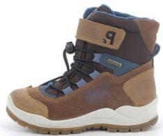 Primigi buty do kostki zimowe chłopięce z membraną Goretex 8395900 30 brązowe