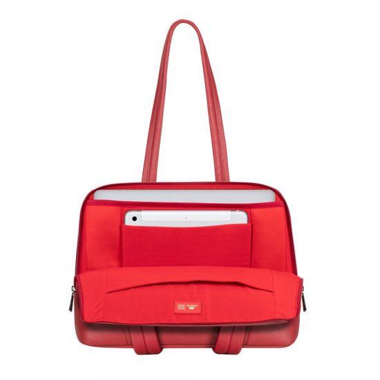 """RivaCase 8992 torba za prenosnike in tablice do 35,56 cm (14'') / MacBook Pro, 40,64 cm (16""""), rdeča"""