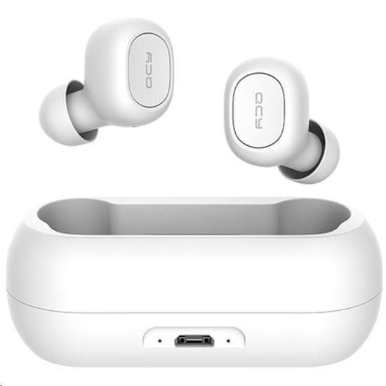 QCY T1C, slušalice, bijele
