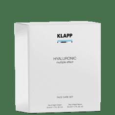 KLAPP Cosmetics HYALURONIC Set (Day & Night Cream + Day & Night Serum)