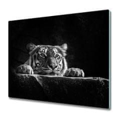 tulup.hu Üveg vágódeszka Tigris 60x52cm