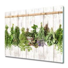 tulup.hu Üveg vágódeszka Herbs egy húr 2x30x52cm