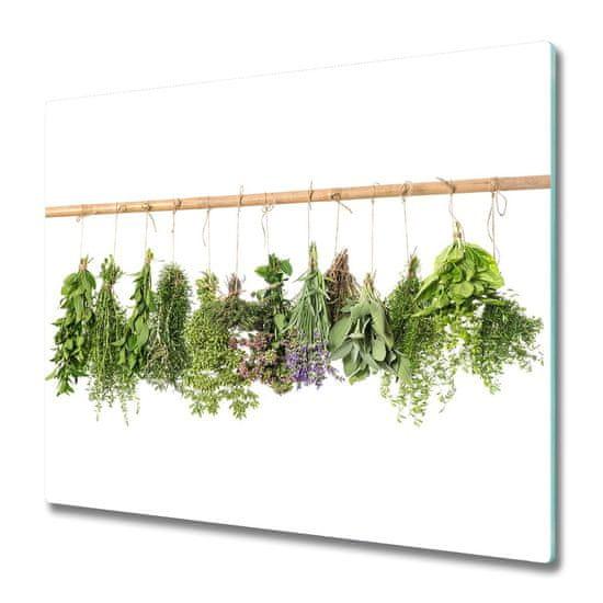 tulup.si Steklena podloga za rezanje Zelišča na vrvico