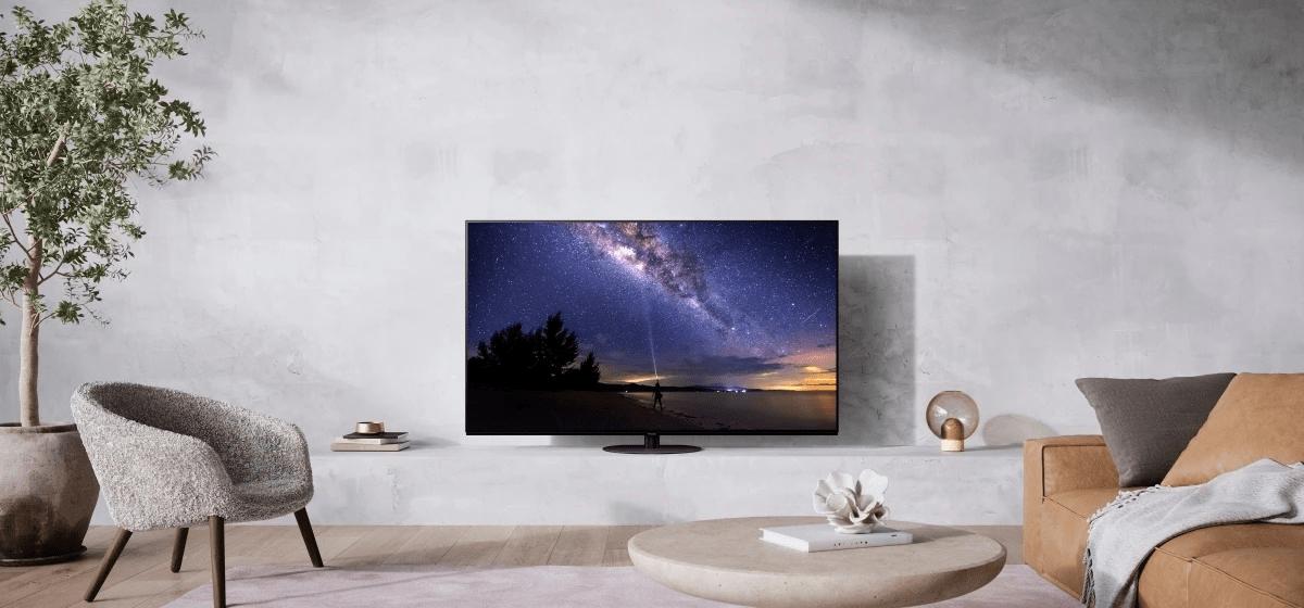 Panasonic TV televize OLED 4K 2021 JZ1000 master oled hdr hcx pro ai špičkový obraz