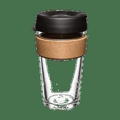 Keep Cup kubek termiczny Brew Cork Black 454 ml L szklany