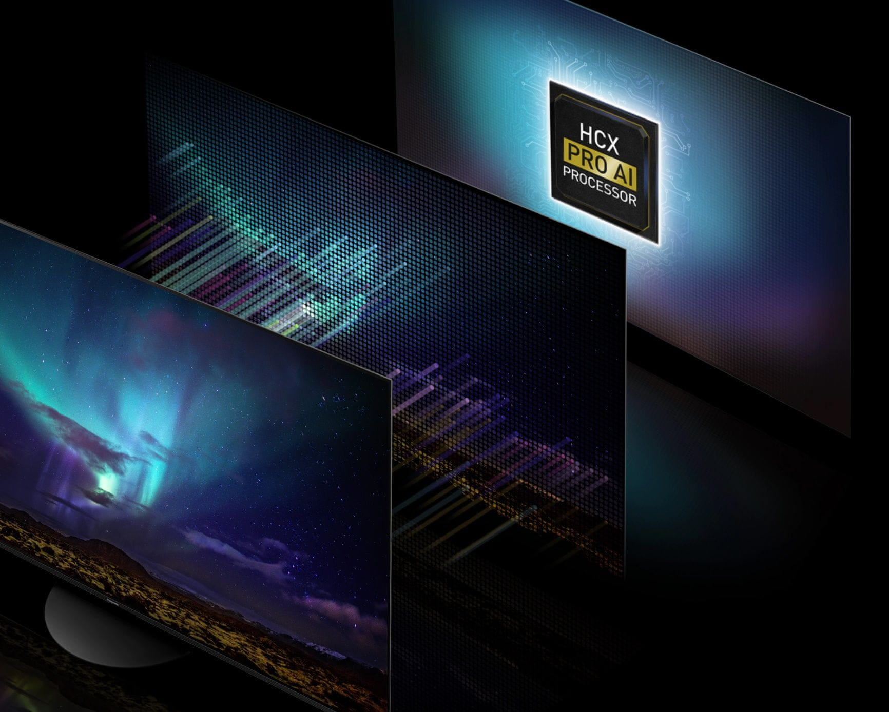 Panasonic TV televize OLED 4K 2021 okos processzor hcx pro ai