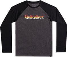 Quiksilver Primary colours ls youth EQBZT04380-KTAH fiú póló, 8, sötétszürke