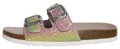 BF dievčenské kožené papuče BA5251119 / BY2131110 31 viacfarebná