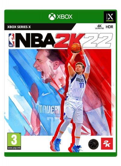 Take 2 NBA 2K22 Standard Edition igra (XBSX)