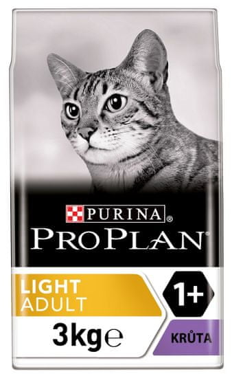Purina Pro Plan Cat LIGHT krůta 3 kg
