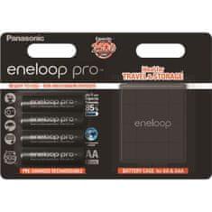 PANASONIC Eneloop Pro CASE AA 4 db 2500 mAh (3HCDE/4BE)