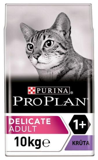 Purina Pro Plan Cat Delicate Turkey hrana za mačke, 10 kg