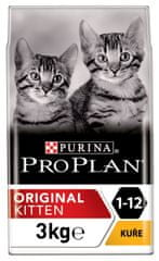Purina Pro Plan Cat Kitten ORIGINAL kuře 3 kg