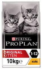Purina Pro Plan Cat Kitten ORIGINAL kuře 10 kg