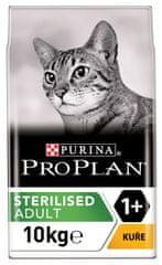 Purina Pro Plan Cat STERILISED kuře 10 kg