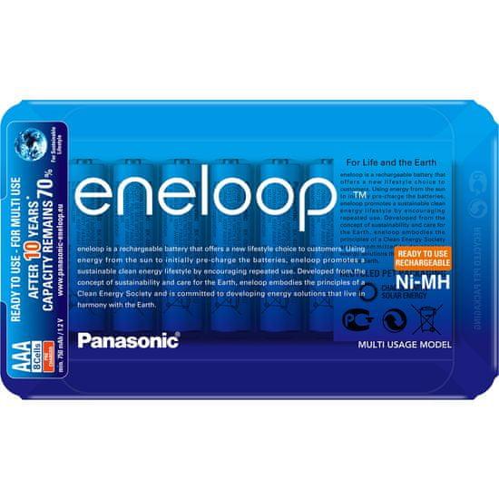 PANASONIC Eneloop Sliding Pack AAA 8 db 750 mAh (BK-4MCCE/8LE)